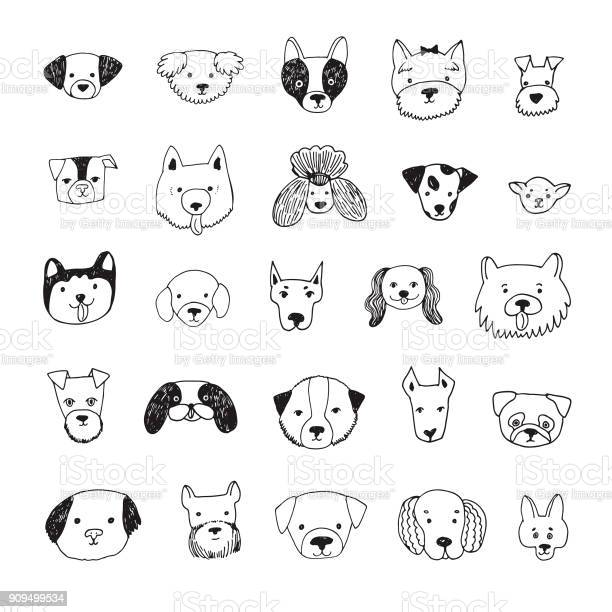 Dog face cartoon vector illustrations set vector id909499534?b=1&k=6&m=909499534&s=612x612&h=gj 9 6fwctcv0hkplvdx9dexsa 1od2e7mpihvyycuk=