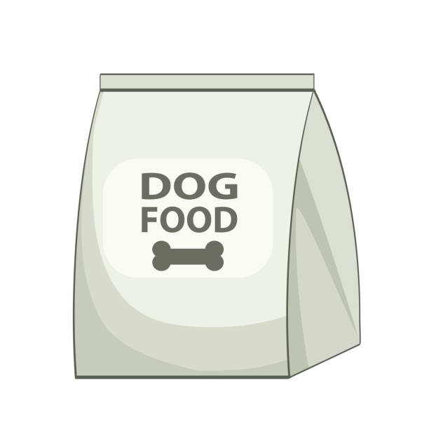 Royalty Free Dry Pet Food Clip Art, Vector Images ...