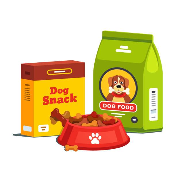 Royalty Free Dog Food Bag Clip Art, Vector Images ...