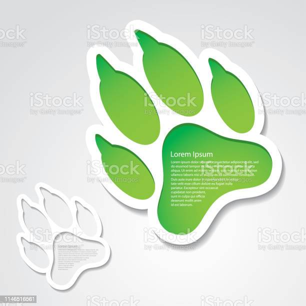 Dog footprint sticker vector illustration vector id1146516561?b=1&k=6&m=1146516561&s=612x612&h=q8mwhdo5tfpf9xmjzo swqkpz7obonhwmobknpmin1q=