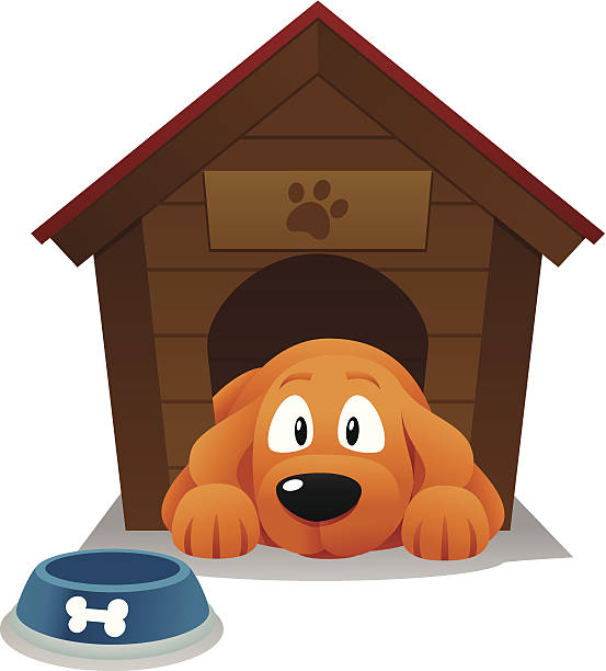 Best Dog House Illustrations, Royalty-Free Vector Graphics ... (553 x 612 Pixel)