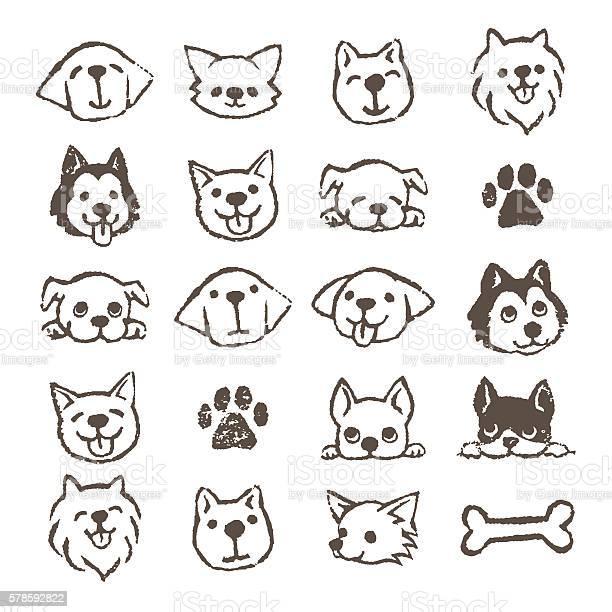 Dog icon set vector id578592822?b=1&k=6&m=578592822&s=612x612&h=cflw9lunqy8yrufvjghprjgpio667ff2h8h6x9a23bi=