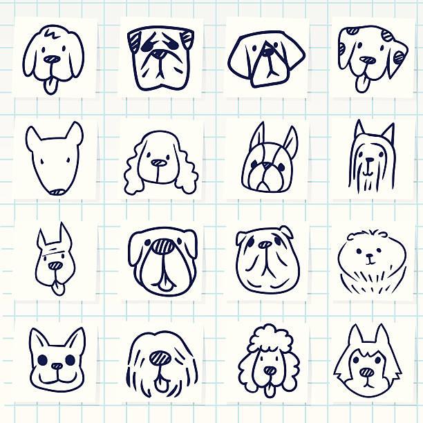 hund-symbol - schoßhunde stock-grafiken, -clipart, -cartoons und -symbole