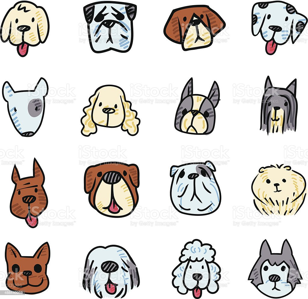 Dog Icon royalty-free dog icon stock vector art & more images of animal