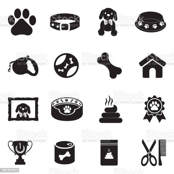 Dog icons black flat design vector illustration vector id941931612?b=1&k=6&m=941931612&s=612x612&h=bwfnfjub3hysaif5davyutusfhdos tok2pjfnpybhq=
