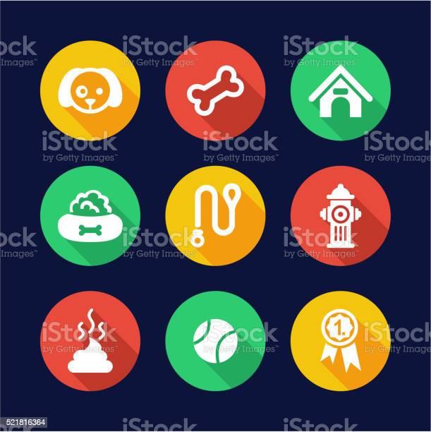 Dog icons flat design circle vector id521816364?b=1&k=6&m=521816364&s=612x612&h=n5jj frg8s7q pjipcggv23vu 2ap459ztb4rt5sjfc=