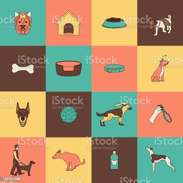Dog icons flat line vector id1201074360?b=1&k=6&m=1201074360&s=612x612&h=pv mlppndg4o8asq0whagy7i 5ctpxfmofgcz6jcgpq=