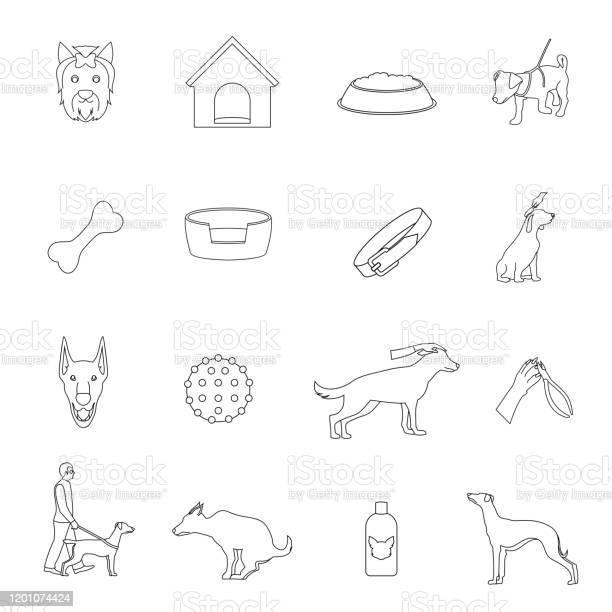Dog icons flat vector id1201074424?b=1&k=6&m=1201074424&s=612x612&h=j9erg1cobxcxvhcgifdlw7rltvbiubjpxlcdrhnezrm=