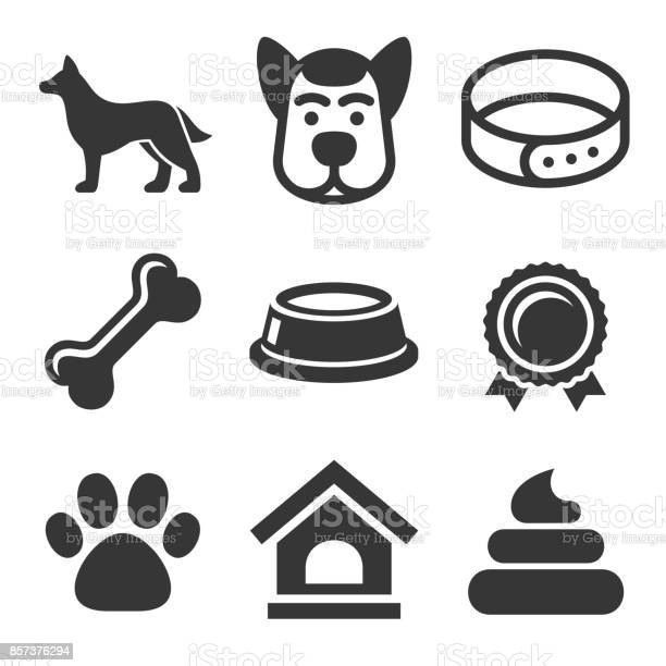 Dog icons set on white background vector vector id857376294?b=1&k=6&m=857376294&s=612x612&h=wpzxiawqppnbbwkesoojf5uwpy3ft3wnz24bsptaf7u=