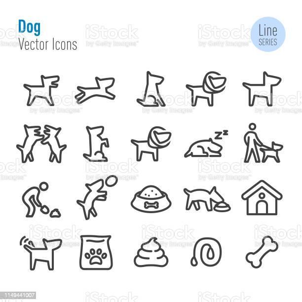 Dog icons vector line series vector id1149441007?b=1&k=6&m=1149441007&s=612x612&h=jt0ymqljkln7qd5jctg5y i7pzjkbl0penaewzbehua=
