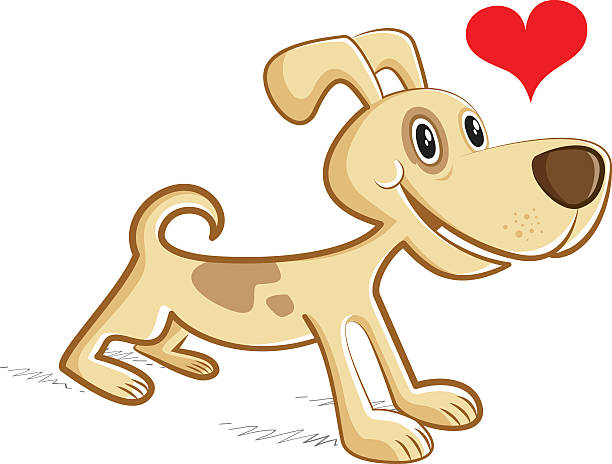 Royalty Free Smiling Dog No People Clip Art, Vector Images ...
