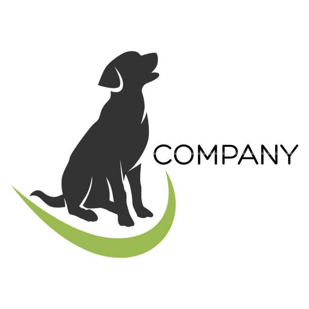 illustrazioni stock, clip art, cartoni animati e icone di tendenza di simbolo del labrador del cane - retriever