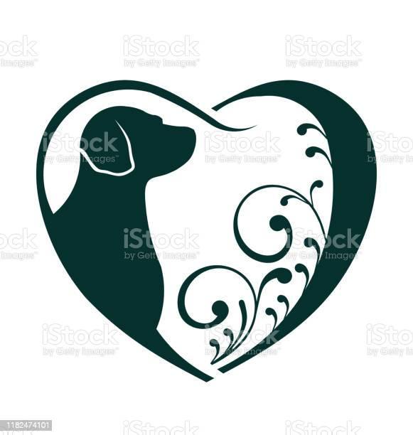 Dog lover heart vector design vector id1182474101?b=1&k=6&m=1182474101&s=612x612&h= 9mgi3lb9o7up0wtmx0cpa bs0uqj02 jefgjy vahk=