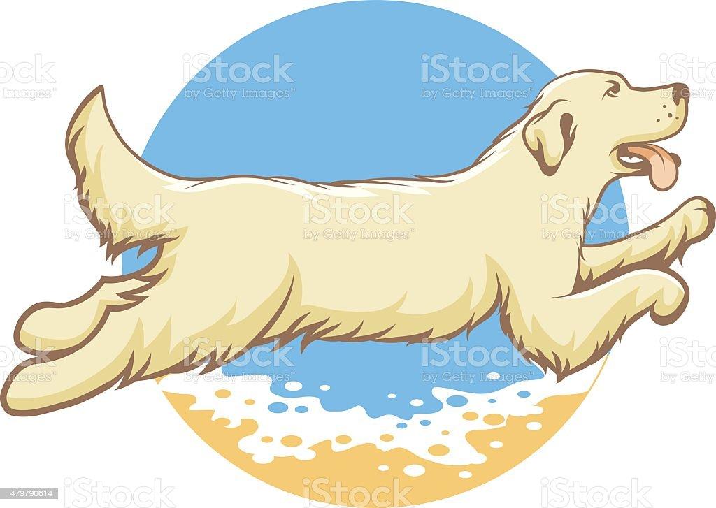 Dog of the sea emblem