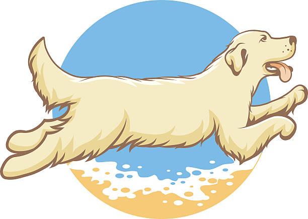Royalty Free Dog Jumping Clip Art, Vector Images ...