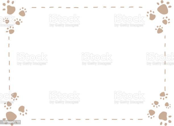 Dog or cat paw print frame vector id1029657272?b=1&k=6&m=1029657272&s=612x612&h=k66rpcppopwvr7ltbhgjduqsjvy7acxdmdw8tkrwiz4=