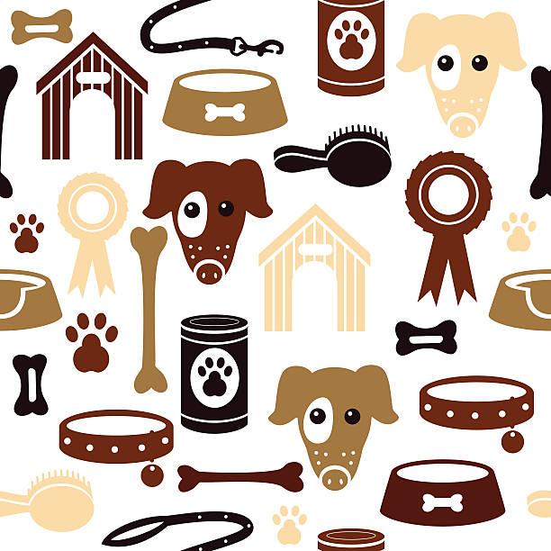 hund muster - hundeleckerli stock-grafiken, -clipart, -cartoons und -symbole