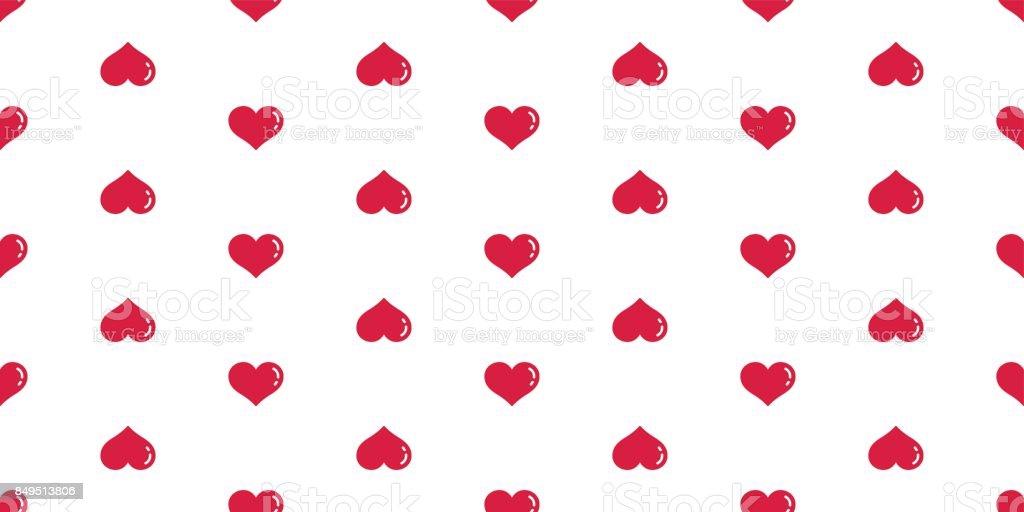 Dog Paw Cat Paw Heart Seamless Pattern Wallpaper Background Stock