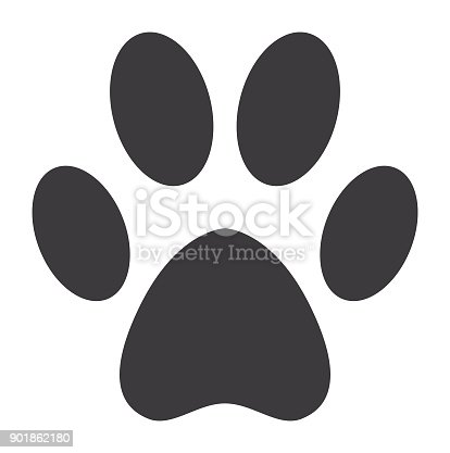 Vector of Dog Paw Icon