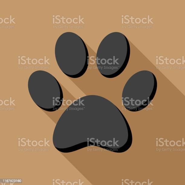 Dog paw print flat 1 vector id1167423160?b=1&k=6&m=1167423160&s=612x612&h=fflcnwcg7zf7t2ueg1jbyxiz9crtcfox4yixdc9iia4=