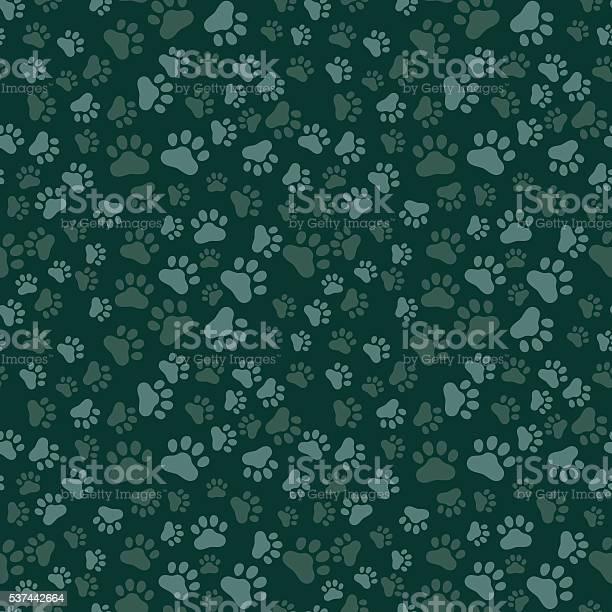 Dog paw print seamless anilams pattern vector illustration vector id537442664?b=1&k=6&m=537442664&s=612x612&h=dbs58zz3ydnkytur3wkwegpt4romdp6 t6xrzv bviy=