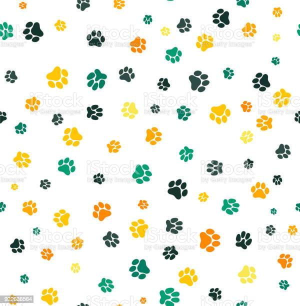 Dog paw print seamless template for your design wrapping paper card vector id922636564?b=1&k=6&m=922636564&s=612x612&h=fc3ky58toudxxtlhmdu jdsjvehpjrwoubum6sgb2 4=