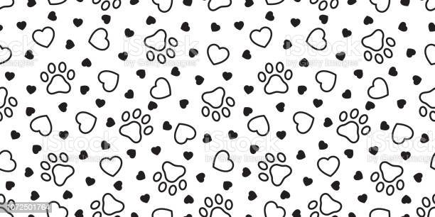 Dog paw seamless pattern heart vector french bulldog valentine tile vector id1072501764?b=1&k=6&m=1072501764&s=612x612&h=f kydprjczowilhd2ayfn98ohre ktlmuasdoiqwxyc=