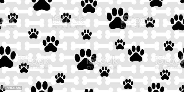 Dog paw seamless pattern vector french bulldog bone footprint cartoon vector id1072501880?b=1&k=6&m=1072501880&s=612x612&h=rgjgxvldzsggwrbeaakqqldakfee94taeqgcage tzw=