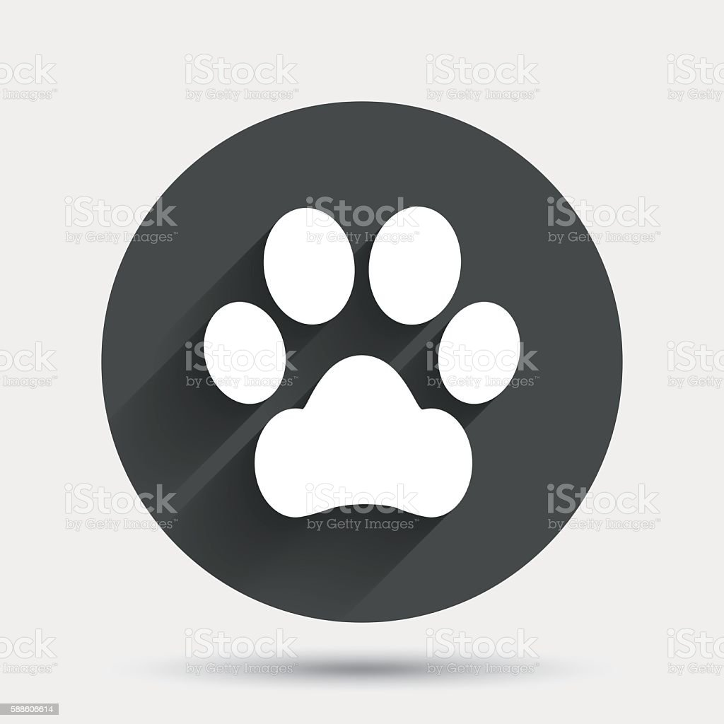 Dog paw symbol images symbol and sign ideas dog paw sign icon pets symbol stock vector art more images of dog paw sign icon buycottarizona