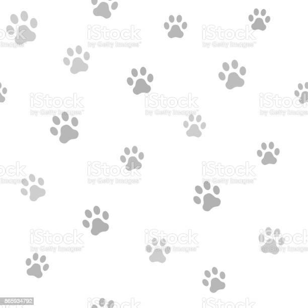 Dog paw track seamless animal pattern of paw footprint vector vector id865934792?b=1&k=6&m=865934792&s=612x612&h=jgvlpkos nqpdqgspwl3iebrtupvqmbmfvq1w6jinoq=
