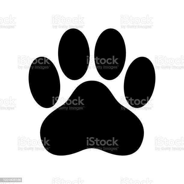 Dog paw vector icon logo footprint cat bear cartoon illustration clip vector id1054808186?b=1&k=6&m=1054808186&s=612x612&h=g 4u5c68efrdrjgh x4w0erhzb kxva toornocgpfs=