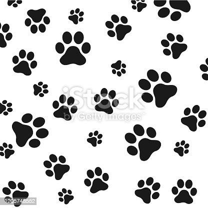 istock dog paws vector footprints icon french bulldog cartoon character symbol illustration doodle design 1205748552
