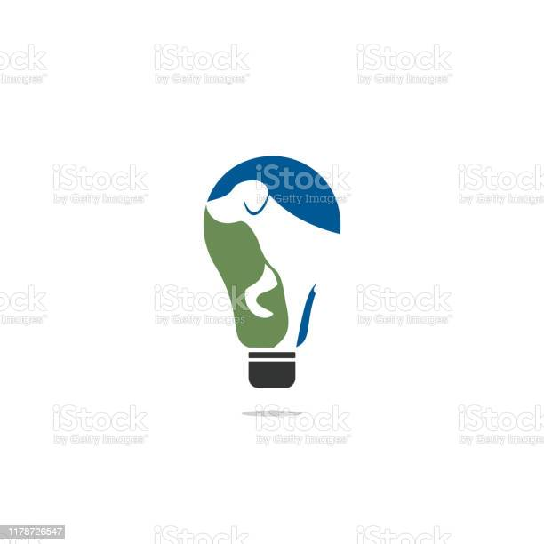 Dog pet animal light bulb logo design vector id1178726547?b=1&k=6&m=1178726547&s=612x612&h=wk cieicrid1afehnhujw6lwqvfqyu6ftnr8hud8tpo=