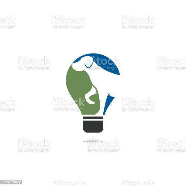 Dog pet animal light bulb logo design vector id1178726566?b=1&k=6&m=1178726566&s=612x612&h=19upppz55jtr wrwn  vcwqsur48lfjg2u4webrsar0=