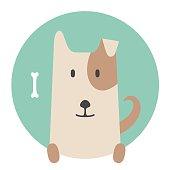 Dog Pet Flat Graphics