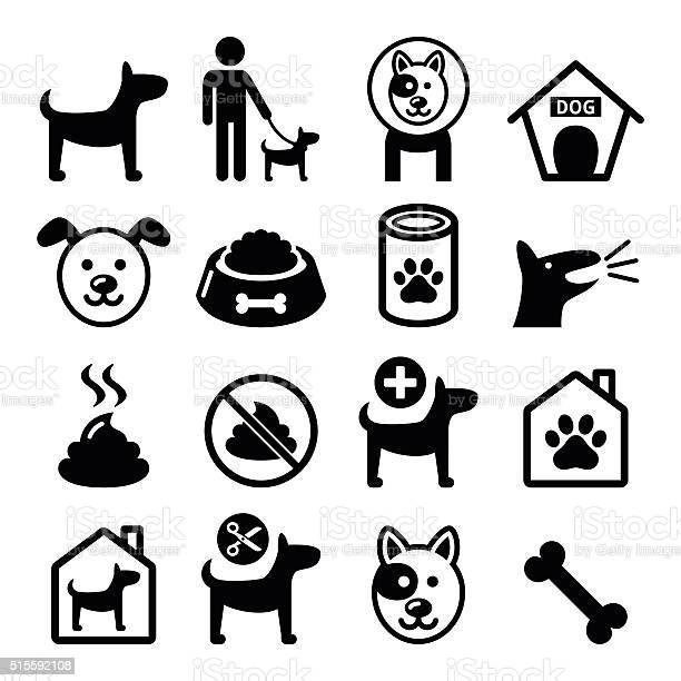 Dog pet icons set vet dogs food dog hotel vector id515592108?b=1&k=6&m=515592108&s=612x612&h=z2fy lgmsplfkjghey9q0xfmyhc pv0lrtcjyqywezw=