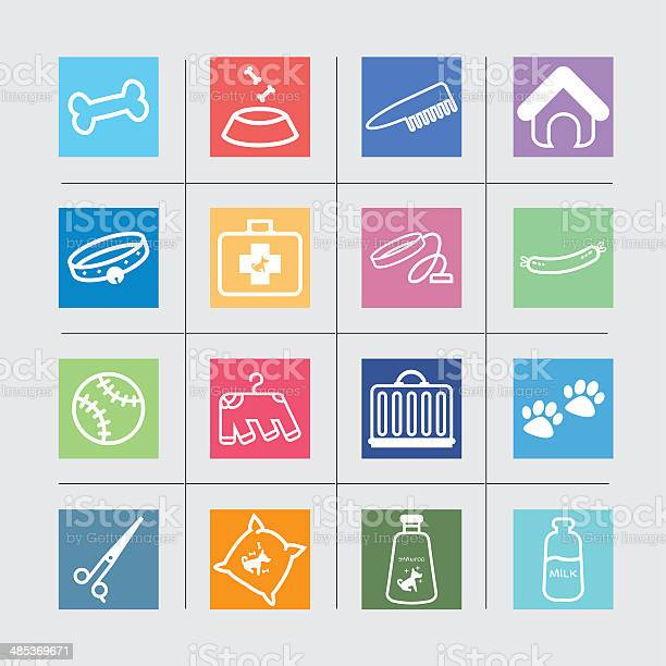 Dog pet shop icons color harmony eps10 vector id485369671?b=1&k=6&m=485369671&s=612x612&h=qdcmzaxfzwxfuqaablixed1uojkinstzkrpc0hzch5k=
