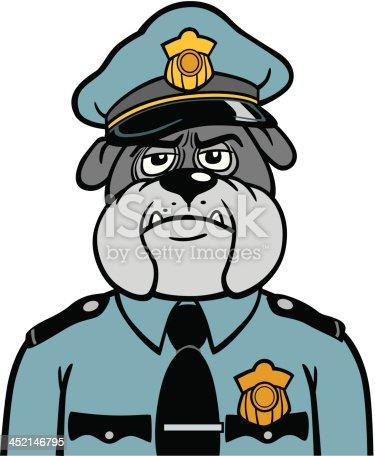 Dog Police Officer