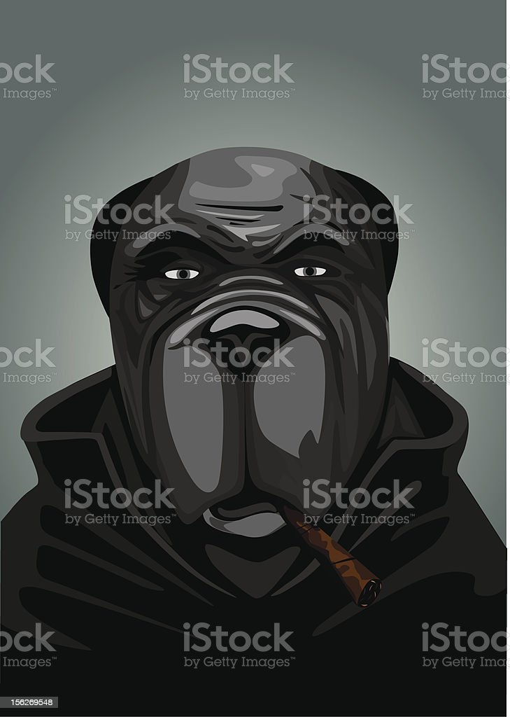 Dog portrait royalty-free dog portrait stock vector art & more images of bulldog