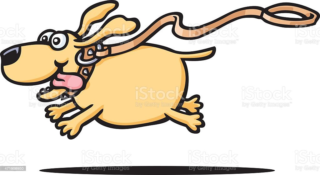 royalty free fat dog clip art vector images illustrations istock rh istockphoto com  clipart dogs running silhouette