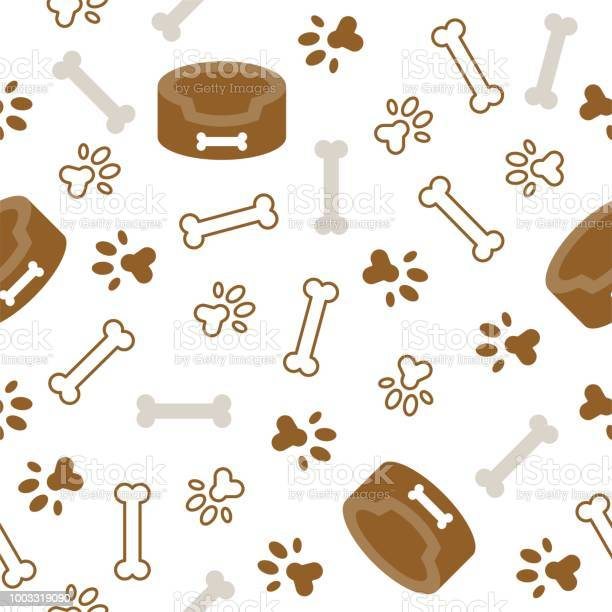 Dog seamless pattern theme bone paw foot print for use as wallpaper vector id1003319090?b=1&k=6&m=1003319090&s=612x612&h=2xnbq22rtk u h2djsq4azblrbyugv vwn17mvgbxqg=