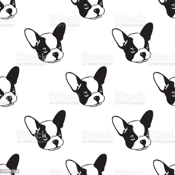 Dog seamless pattern with french bulldog white vector id679554308?b=1&k=6&m=679554308&s=612x612&h=pei6jivfcsurievkclctjcvwvtzgtsxch3fnsvdnu8g=