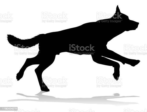 Dog silhouette pet animal vector id1190404075?b=1&k=6&m=1190404075&s=612x612&h=dg0qhf9elmzdxwi905lm7czqs9cw0v1wuohygravrm4=