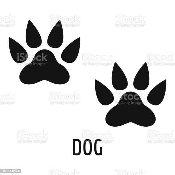 Dog step icon simple style vector id1015542830?b=1&k=6&m=1015542830&s=612x612&h=algwsnxfdqluiqmcwwx6vasdu2n7rwunzm5qydvqvks=