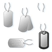 Dog Tags with Chain