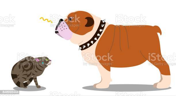 Dog threatening cat vector id848993444?b=1&k=6&m=848993444&s=612x612&h=naxewsw1e2bcvwxvrt6 u35idx37ycq hmpnv6oqvgi=