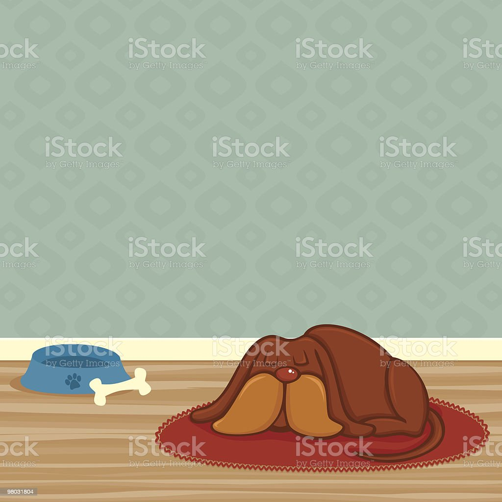 Dog Tired royalty-free dog tired stock vector art & more images of animal markings