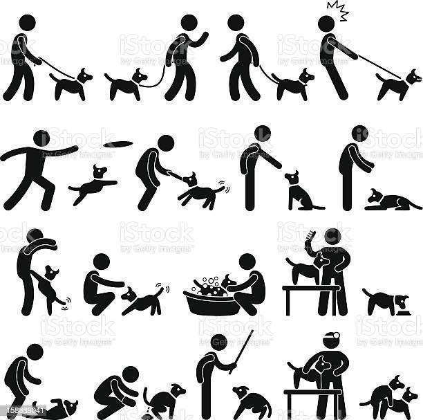 Dog training pictogram vector id158889041?b=1&k=6&m=158889041&s=612x612&h=9umt15vbjuixnndwb4040vxosvw4 uehny1tntp0avu=