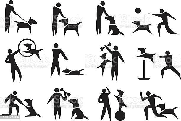Dog training vector icon set vector id543175386?b=1&k=6&m=543175386&s=612x612&h=uyjl5gf hitrrn kc6bdoxtjxx1lskkfew gvjabjbc=