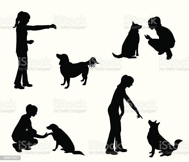Dog training vector silhouette vector id165075421?b=1&k=6&m=165075421&s=612x612&h=v4bx9oc96s1pg  2ed37nb53yhobbdrqjvzsqpay38o=